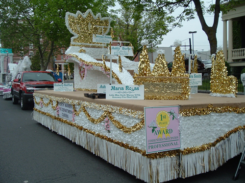 Floral Sheeting Photo Gallery Parade Floats