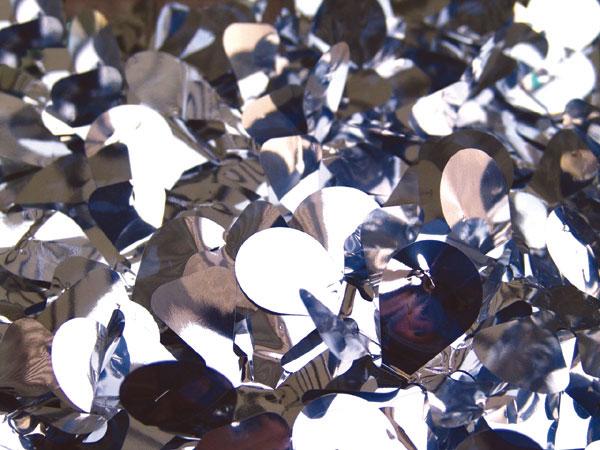 Metallic Vinyl: Metallic Silver